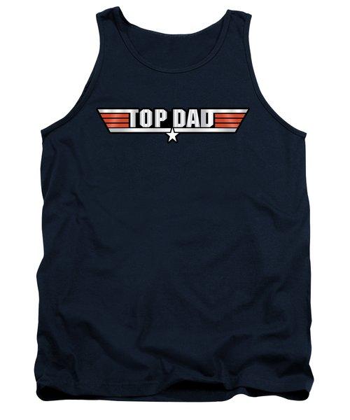 Top Dad Callsign Tank Top by Fernando Miranda