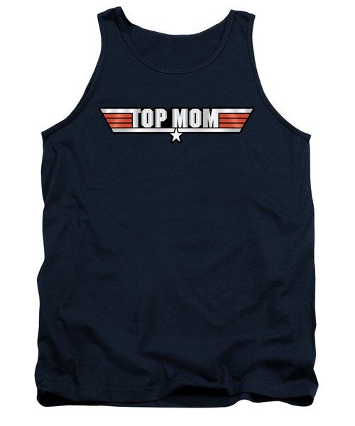 Top Mom Callsign Tank Top by Fernando Miranda