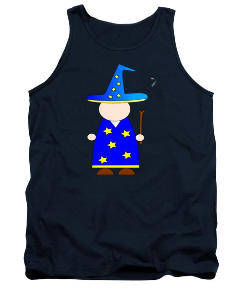 Wizard #2 Tank Top by Frederick Holiday
