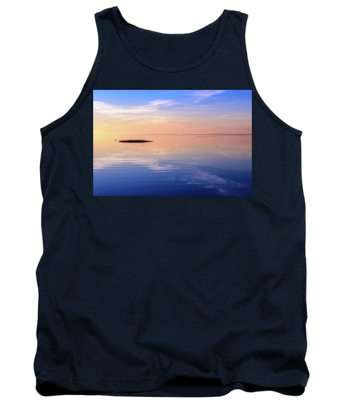 Tank Top featuring the photograph Xtra Blue by Thierry Bouriat