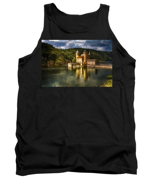 Chateau De La Roche Tank Top by Debra and Dave Vanderlaan