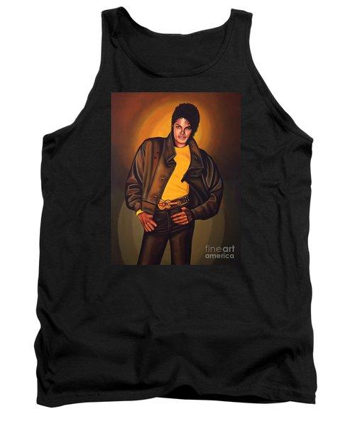 Michael Jackson Tank Top by Paul Meijering