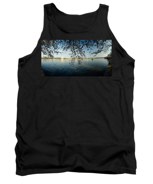 Monument At The Waterfront, Jefferson Tank Top by Panoramic Images