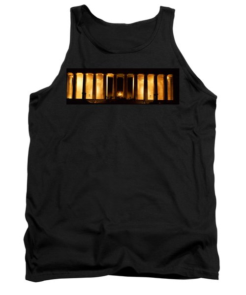 Statue Of Abraham Lincoln Tank Top by Panoramic Images