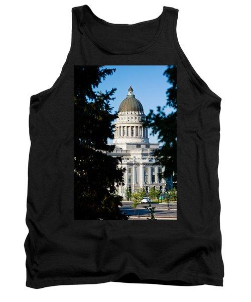 Utah State Capitol Building, Salt Lake Tank Top by Panoramic Images