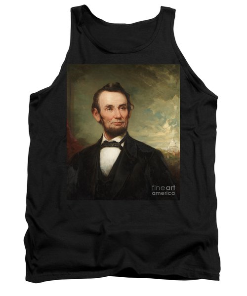 Abraham Lincoln  Tank Top by George Henry Story