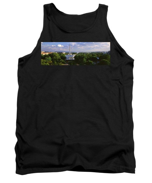 Aerial, White House, Washington Dc Tank Top by Panoramic Images