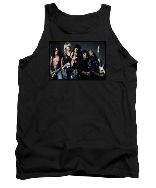 Aerosmith - Let The Music Do The Talking 1980s Tank Top by Epic Rights