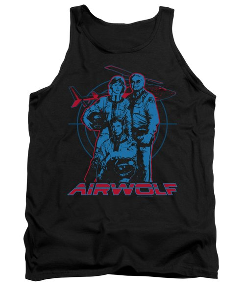 Airwolf - Graphic Tank Top by Brand A