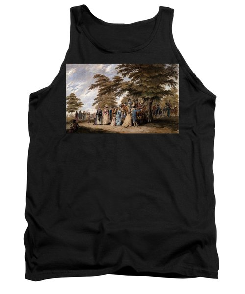 An Airing In Hyde Park, 1796 Tank Top by Edward Days