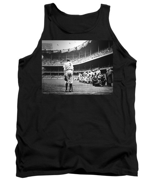 Babe Ruth Poster Tank Top by Gianfranco Weiss