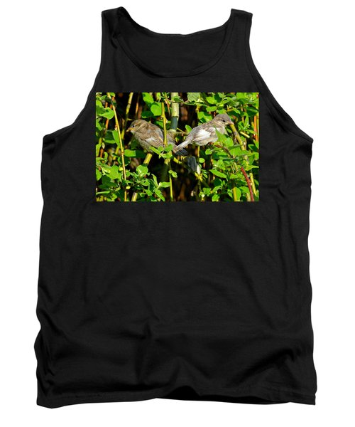 Babies Afraid To Fly Tank Top by Frozen in Time Fine Art Photography