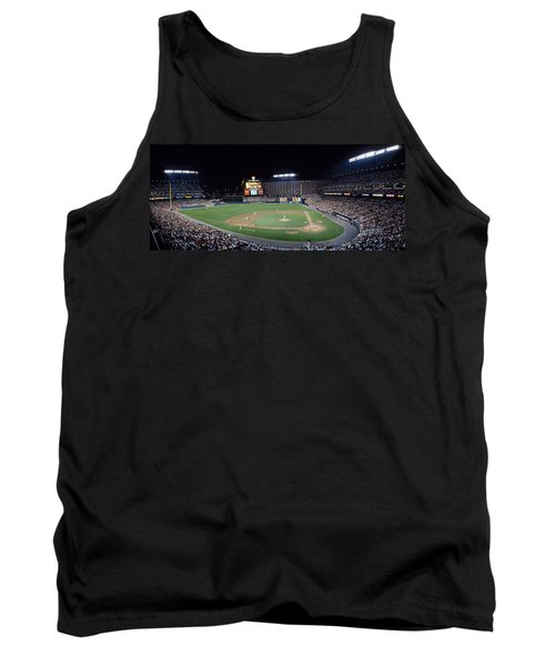 Baseball Game Camden Yards Baltimore Md Tank Top by Panoramic Images