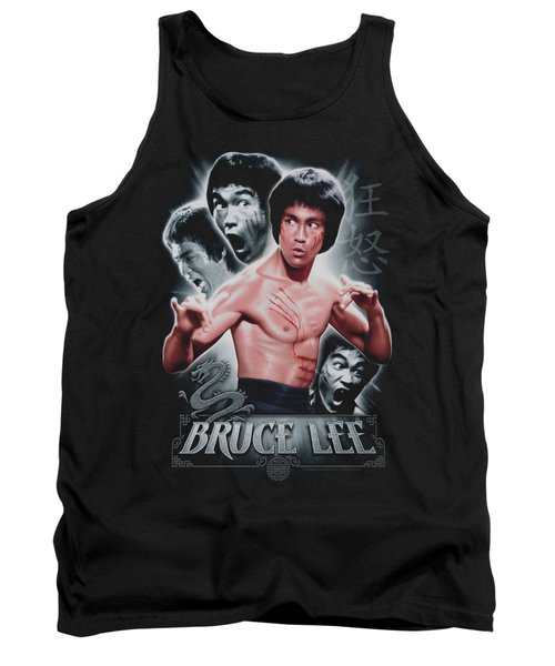 Bruce Lee - Inner Fury Tank Top by Brand A