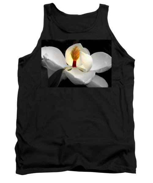 Candle In The Wind Tank Top by Karen Wiles