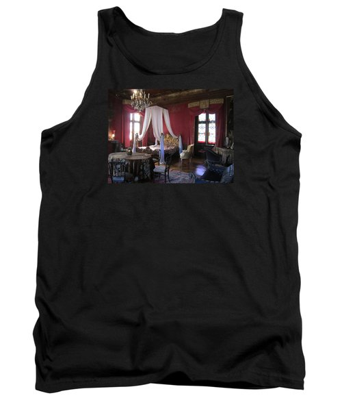 Tank Top featuring the photograph Chateau De Cormatin by Travel Pics