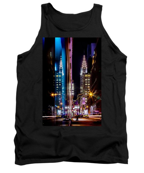 Color Of Manhattan Tank Top by Az Jackson