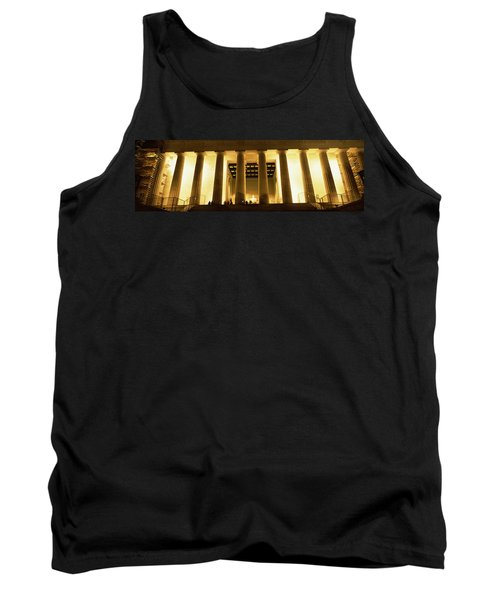 Columns Surrounding A Memorial, Lincoln Tank Top by Panoramic Images