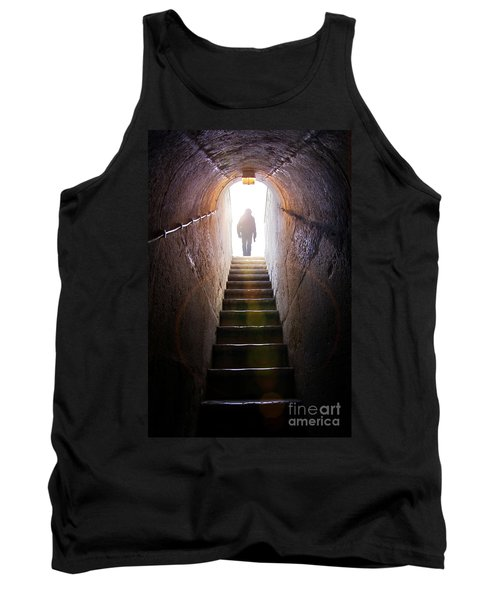 Dungeon Exit Tank Top by Carlos Caetano