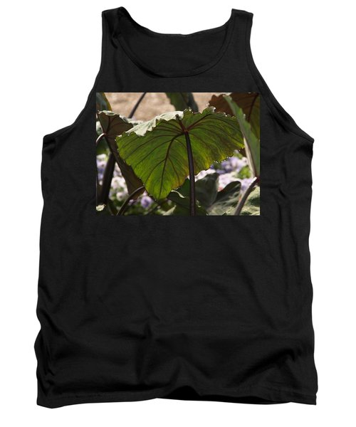 Elephant Ear Tank Top by James Peterson
