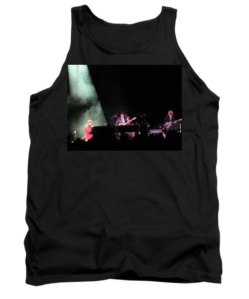 Elton And Band Tank Top by Aaron Martens
