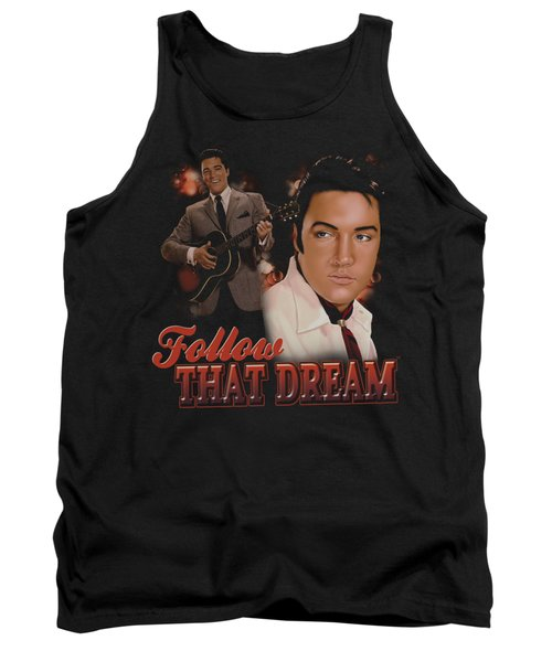 Elvis - Follow That Dream Tank Top by Brand A