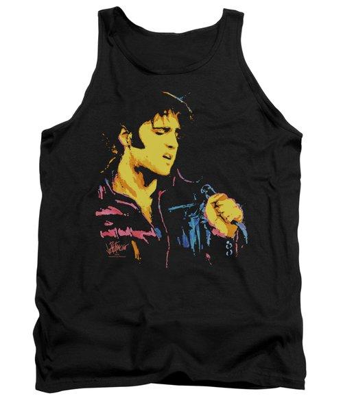 Elvis - Neon Elvis Tank Top by Brand A