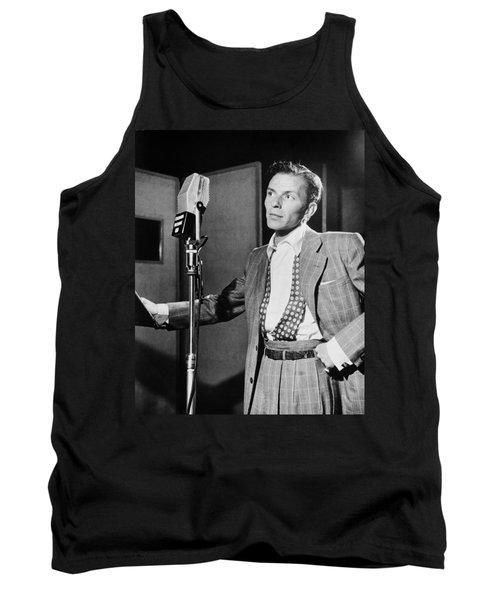 Frank Sinatra Tank Top by Mountain Dreams