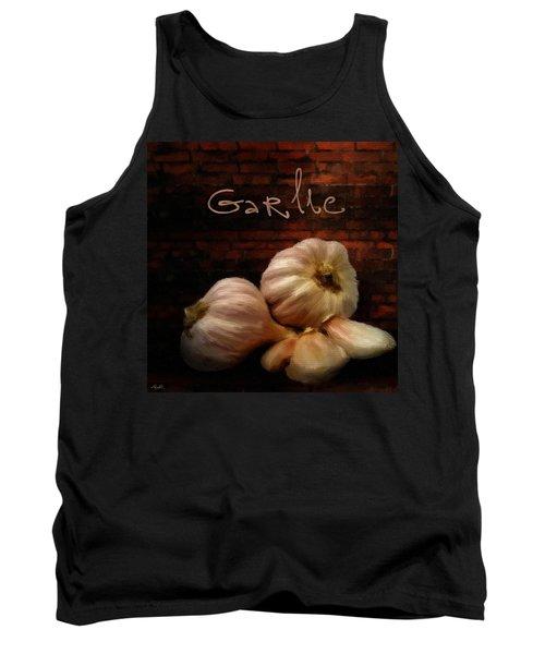 Garlic II Tank Top by Lourry Legarde