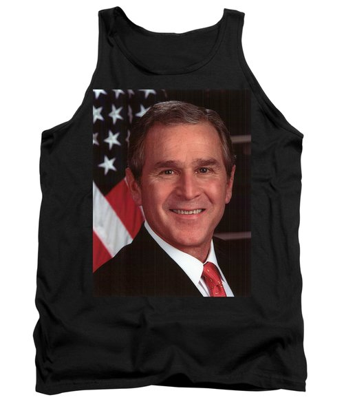 George W Bush Tank Top by Official Gov Files