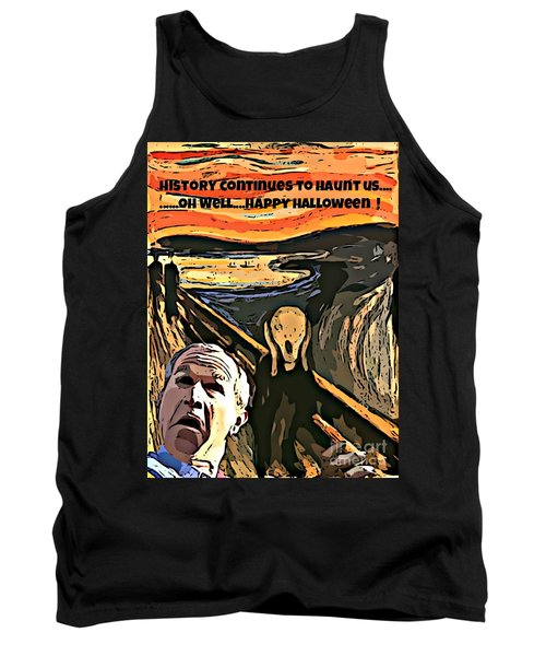 Ghosts Of The Past Tank Top by John Malone