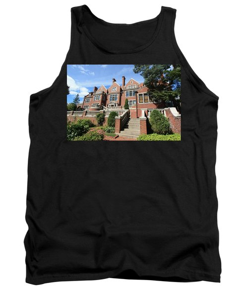 Glensheen Mansion Exterior Tank Top by Amanda Stadther