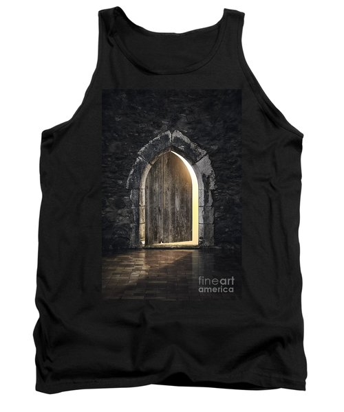 Gothic Light Tank Top by Carlos Caetano