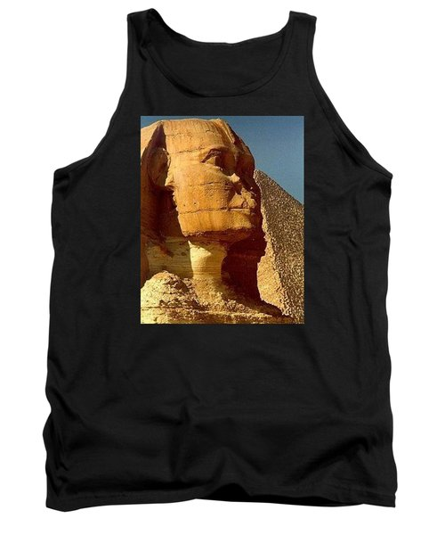 Tank Top featuring the photograph Great Sphinx Of Giza by Travel Pics