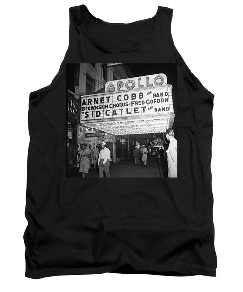 Harlem's Apollo Theater Tank Top by Underwood Archives Gottlieb