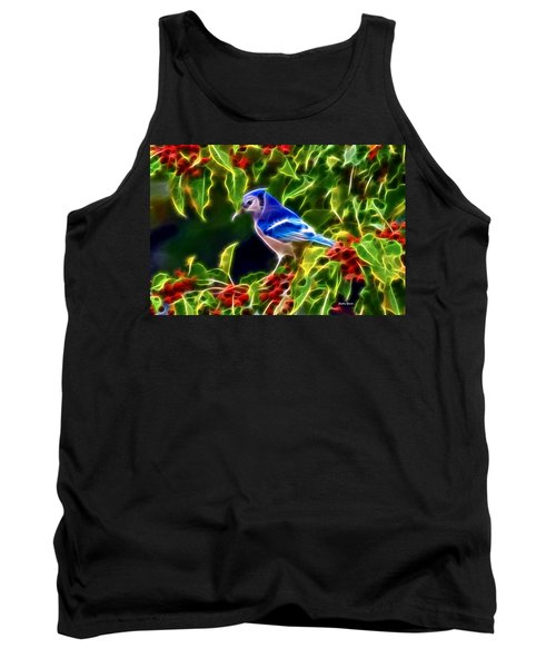 Hiding In The Berries Tank Top by Stephen Younts