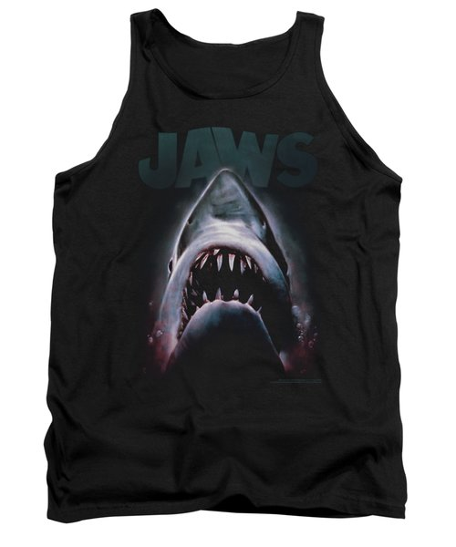 Jaws - Terror In The Deep Tank Top by Brand A