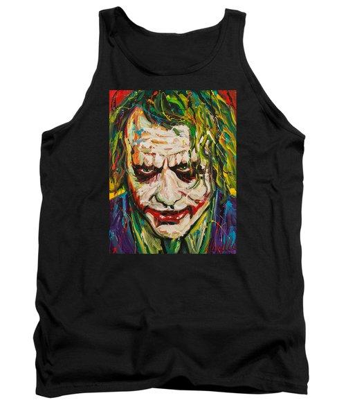 Joker Tank Top by Michael Wardle