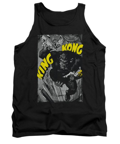 King Kong - Crushing Poster Tank Top by Brand A