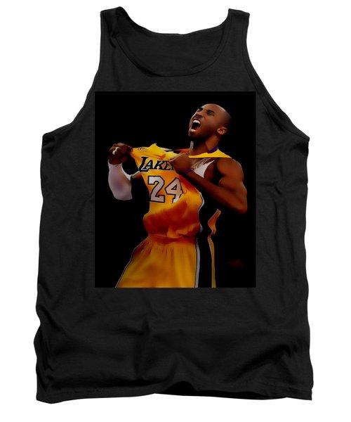 Kobe Bryant Sweet Victory Tank Top by Brian Reaves