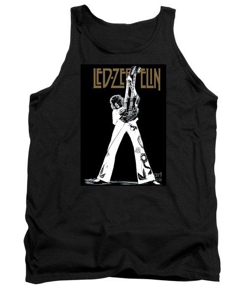 Led Zeppelin No.06 Tank Top by Caio Caldas