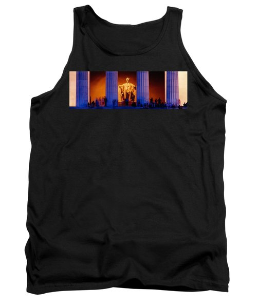 Lincoln Memorial, Washington Dc Tank Top by Panoramic Images