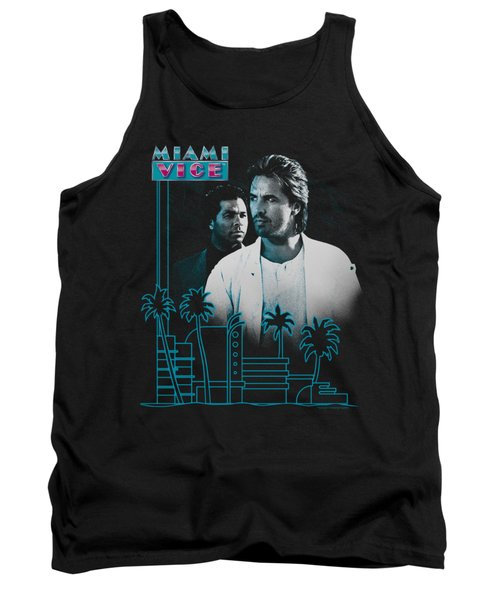 Miami Vice - Looking Out Tank Top by Brand A