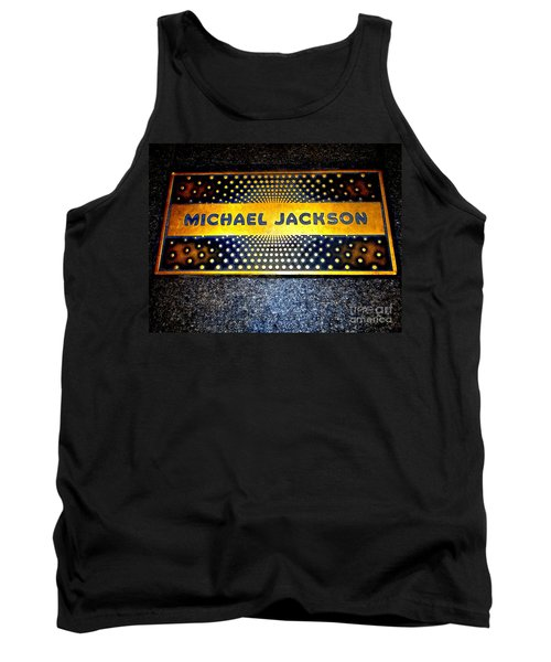 Michael Jackson Apollo Walk Of Fame Tank Top by Ed Weidman