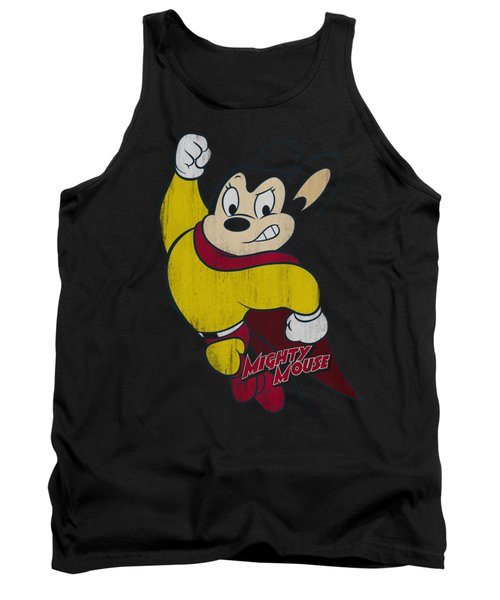Mighty Mouse - Classic Hero Tank Top by Brand A