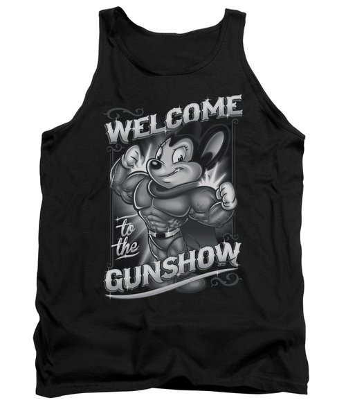 Mighty Mouse - Mighty Gunshow Tank Top by Brand A