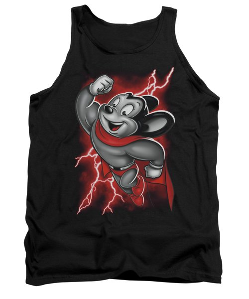 Mighty Mouse - Mighty Storm Tank Top by Brand A