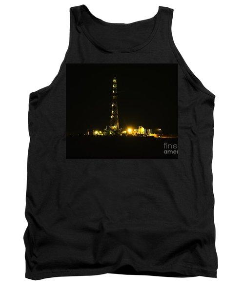 Oil Rig Tank Top by Jeff Swan