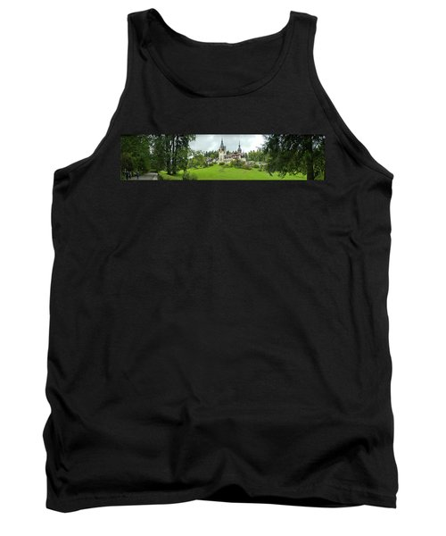 Peles Castle In The Carpathian Tank Top by Panoramic Images
