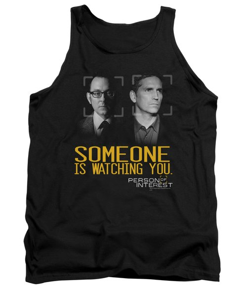 Person Of Interest - Someone Tank Top by Brand A